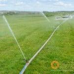 Watering in progress at Garthorpe