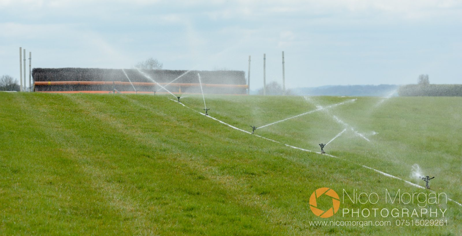 Watering in progress at Garthorpe