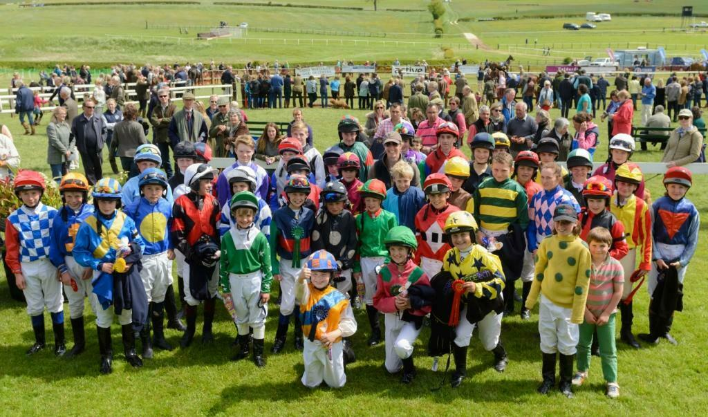 Point-To-Point Pony Racing finals day at Garthorpe